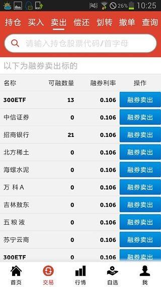 闪电通上海证券(融)软件截图1