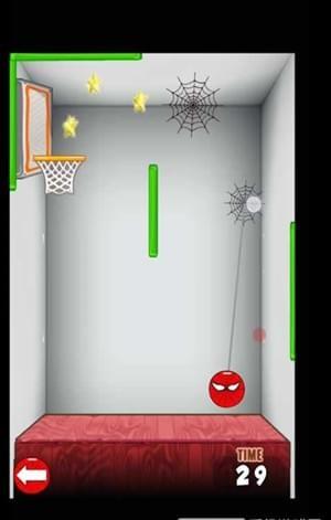 蜘蛛侠投篮比赛软件截图0