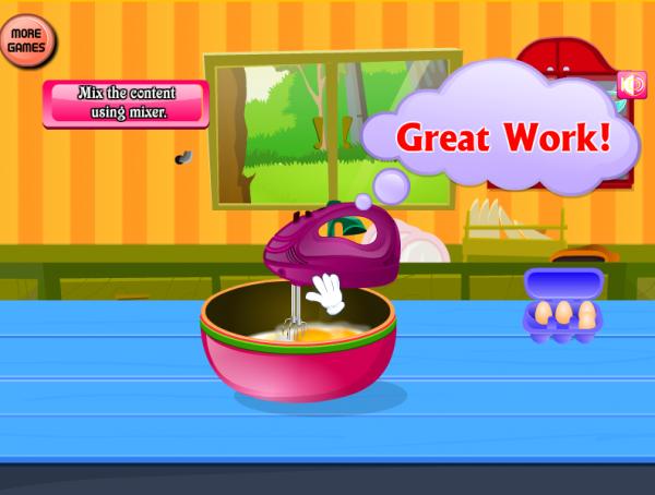 做蛋糕烹饪游戏软件截图1