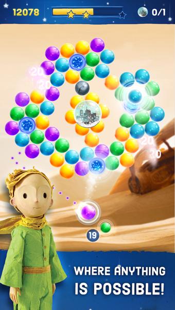 小王子吹泡泡软件截图0