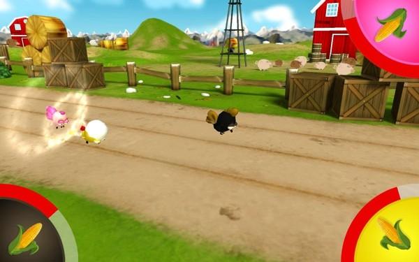 小鸡赛跑软件截图1