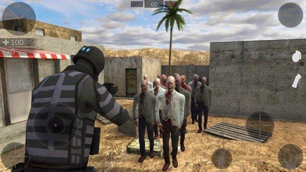 僵尸战争模拟器软件截图3