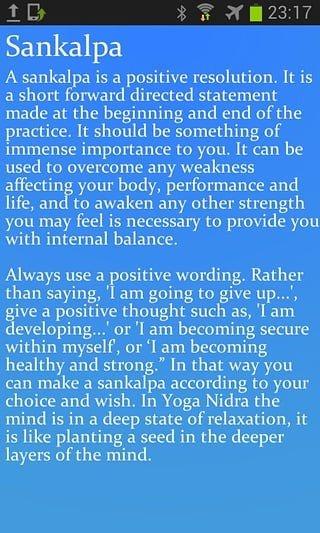Yoga Nidra瑜伽休息术软件截图2