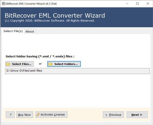 EML Converter Wizard(EML转换器)
