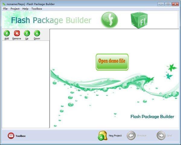 Boxoft Flash Package Builder(Flash转换工具)