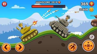 山丘坦克战中文版软件截图0