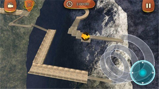3D滚动平衡球软件截图1