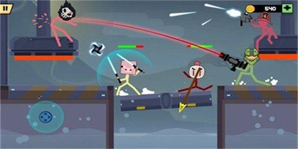 火柴人刺客战斗软件截图2