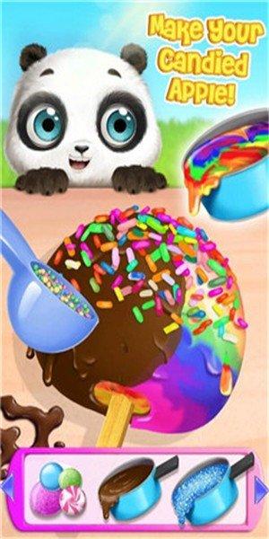 熊猫宝宝的疯狂假期软件截图1