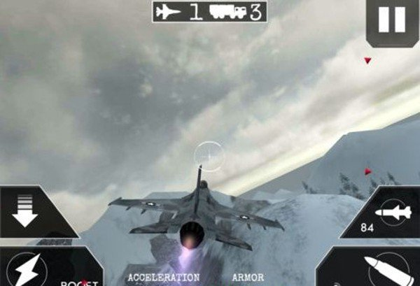 3D飞机飞翔比赛破解版软件截图0