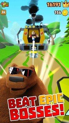棕熊森林跑酷软件截图3