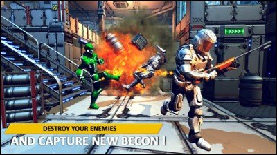 机器人战争战场
