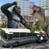 哥斯拉大战恐龙