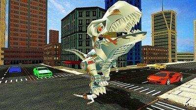 恐龙机器人模拟器软件截图0