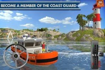 海岸交通工具模拟驾驶软件截图0