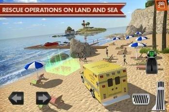 海岸交通工具模拟驾驶软件截图1