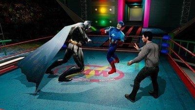 超级英雄摔跤竞技场软件截图1