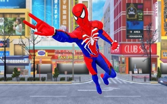 蜘蛛英雄战斗歹徒绳之战软件截图2