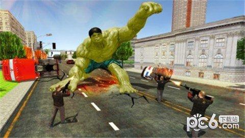 绿巨人城市突袭软件截图3