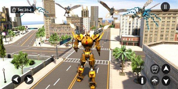 黄蜂机器人战争软件截图2