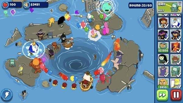 Bloons Adventure Time TD软件截图3