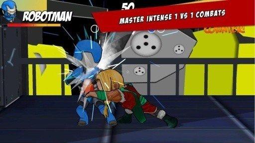 超级英雄自由格斗