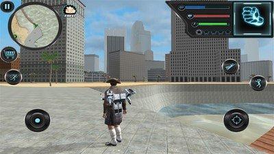 飞行的城市英雄软件截图1