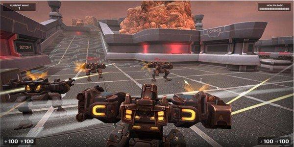 机器人大战毁灭竞技场软件截图1