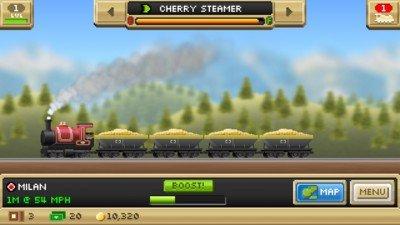 像素口袋火车