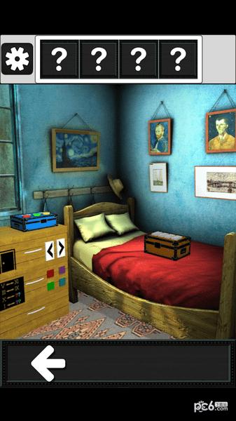 逃脱游戏复古房间之谜软件截图2