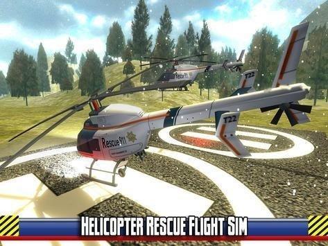 直升机的模拟救援软件截图2