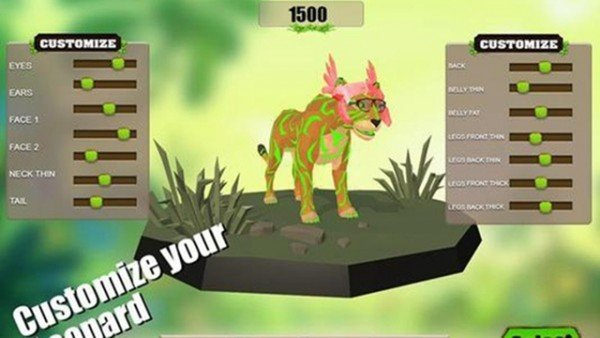 豹子生存模拟