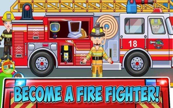 我的小镇消防站救援
