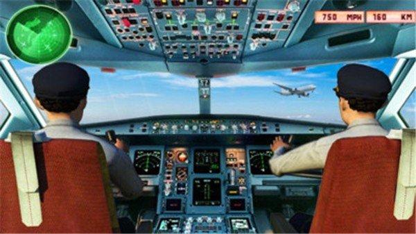 真实飞机模拟器
