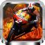 竞技越野摩托车