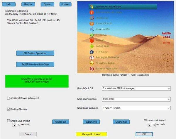 Grub2Win(Grub系统安装软件)