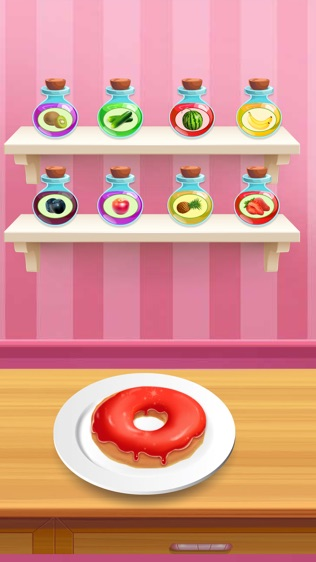 甜甜圈是美味的 烹饪游戏
