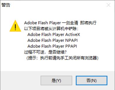 Adobe Flash Player一剑全清
