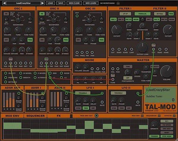 Togu Audio Line TAL Mod(声音模拟合成软件)下载