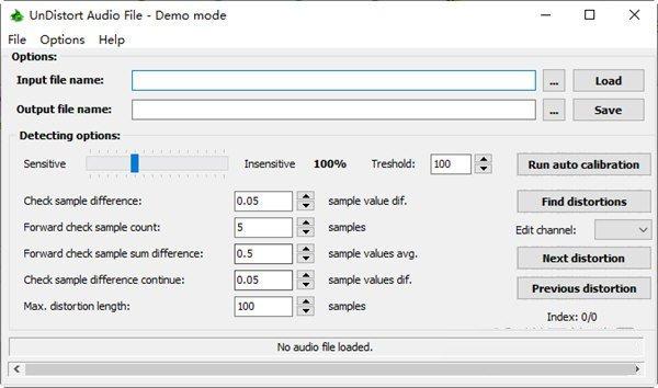 UnDistort Audio File(音频文件修复工具)下载