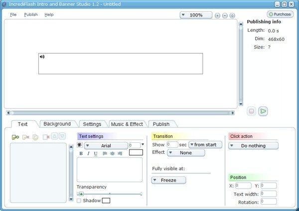 IncrediFlash Intro and Banner Studio(动画制作软件)