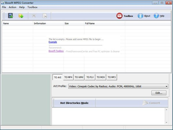 Boxoft MPEG Converter(视频转换工具)