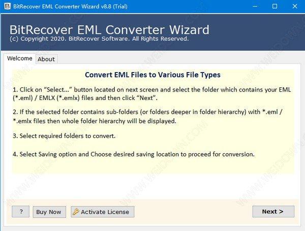 BitRecover EML Converter Wizard(EML文件转换工具)下载