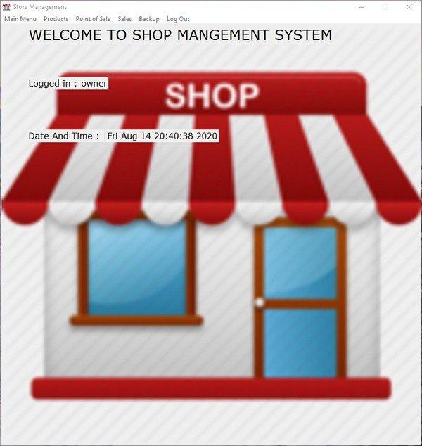 Store Management System(商店管理系统)下载