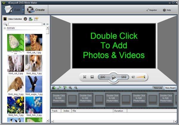 4Easysoft DVD Movie Maker(视频制作软件)下载