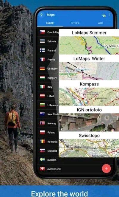 Locus地图软件截图0
