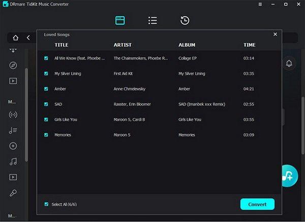 DRmare TidiKit Music Converter(音乐转换工具)