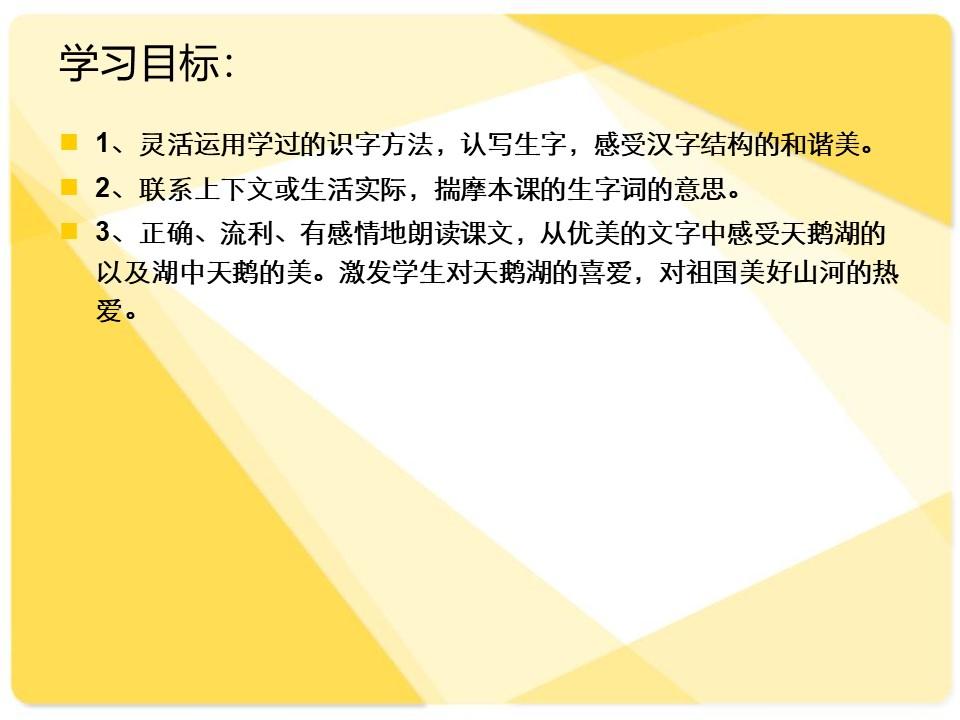 《新疆天鹅湖》PPT课件3下载