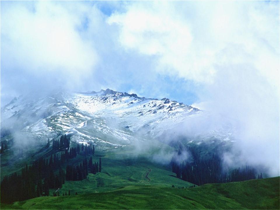 《七月的天山》PPT课件3下载