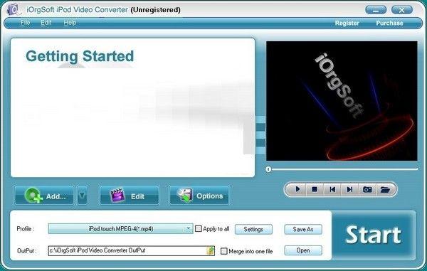 iOrgSoft iPod Video Converter(iPod视频转换器)